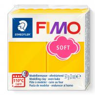 Fimo klei soft Zonnegeel Nummer 16 - 57Gram - #3642