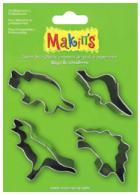 Makins clay uitsteekvorm Set Dinosaurs 4 PC Set - #172172
