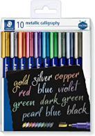 Staedtler metallic brush 10 stuks - 8323 tb10 - #257939